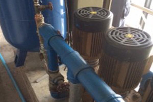 Install a pressure tank Condo