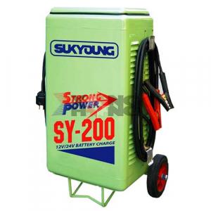 เครื่องชาร์จแบตเตอรี่ไฟฟ้า Sukyoung SP-SY 200