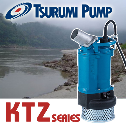 TSURUMI KTZ Series ปั๊มแช่สูบน้ำเสีย