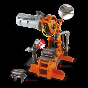 เครื่องตัดท่อแป๊ป (Hydraulic)