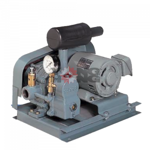 เครื่องเป่าอากาศ (vacuum three lobe blower) ANLET BSS