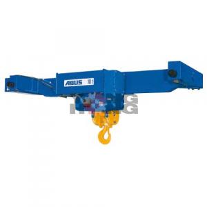 รอกสลิง (elctric wire rope hoist) ABUS Type D – standard crab unit double rail trolley