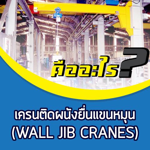 เครนติดผนังยื่นแขนหมุน (WALL JIB CRANES)