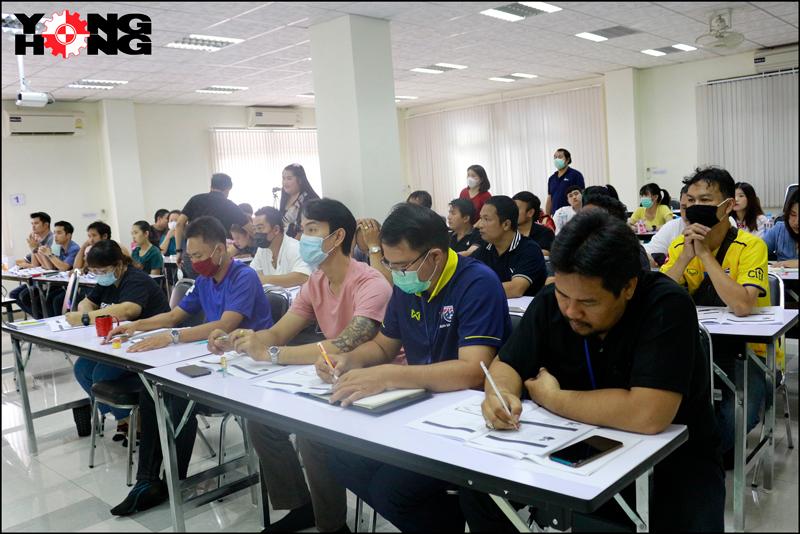 บริษัท ย่งฮง (ประเทศไทย) จำกัด จัดอบรมให้ความรู้แก่พนักงาน
